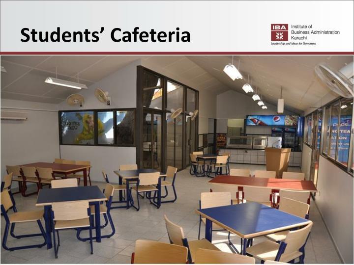 Students' Cafeteria