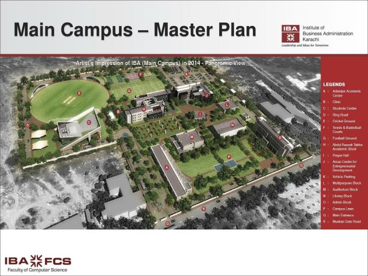 Main Campus – Master Plan