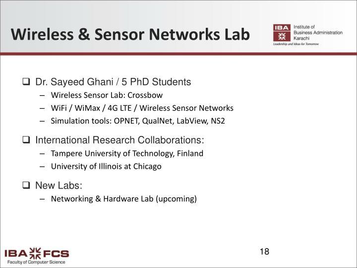 Wireless & Sensor