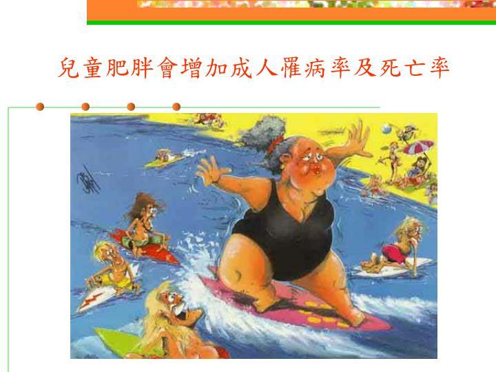 兒童肥胖會增加成人