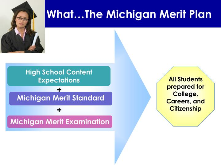 What…The Michigan Merit Plan