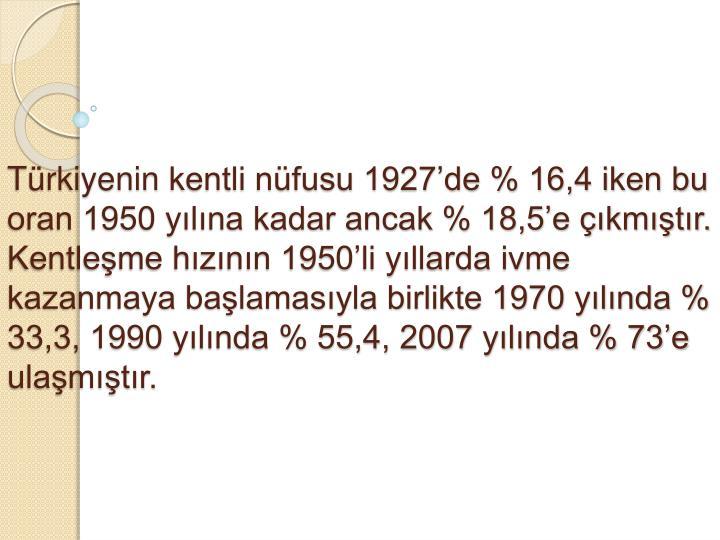 Trkiyenin