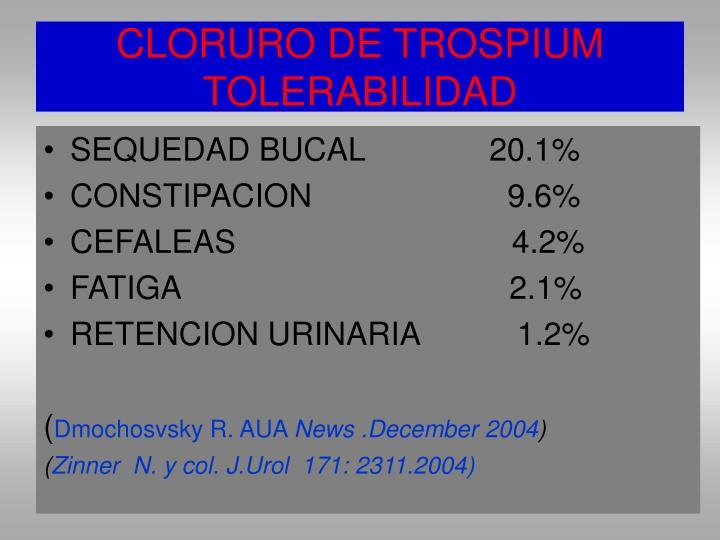 CLORURO DE TROSPIUM