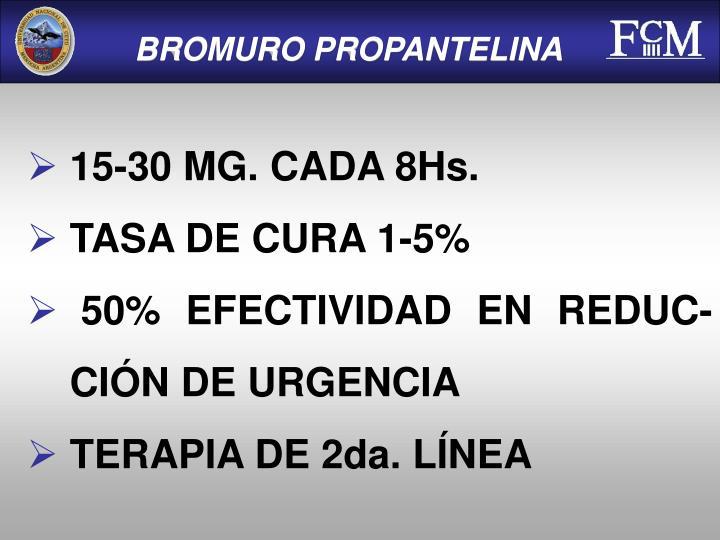 BROMURO PROPANTELINA