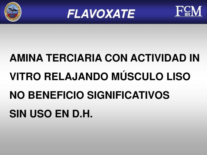 FLAVOXATE