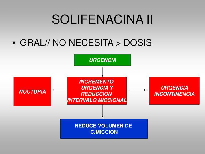 SOLIFENACINA II