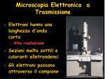 microscopia elettronica a trasmissione
