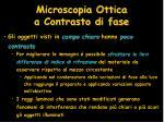 microscopia ottica a contrasto di fase