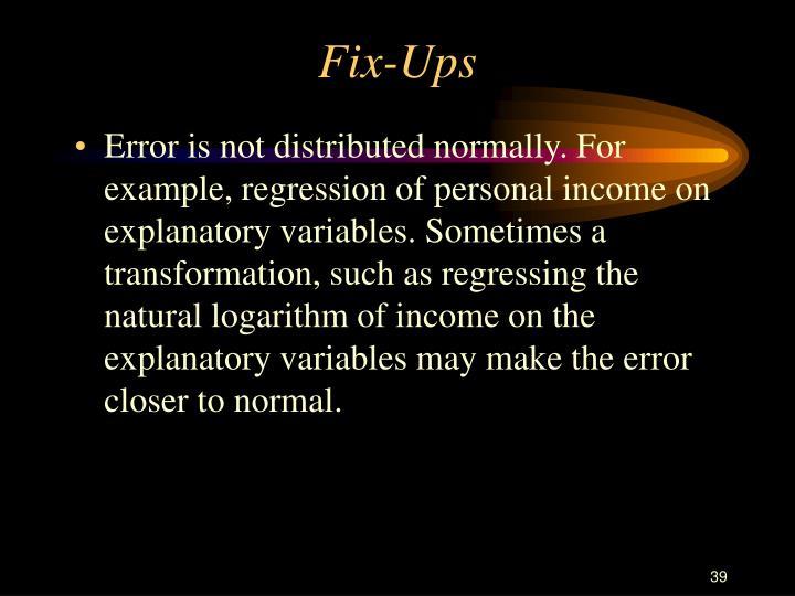 Fix-Ups