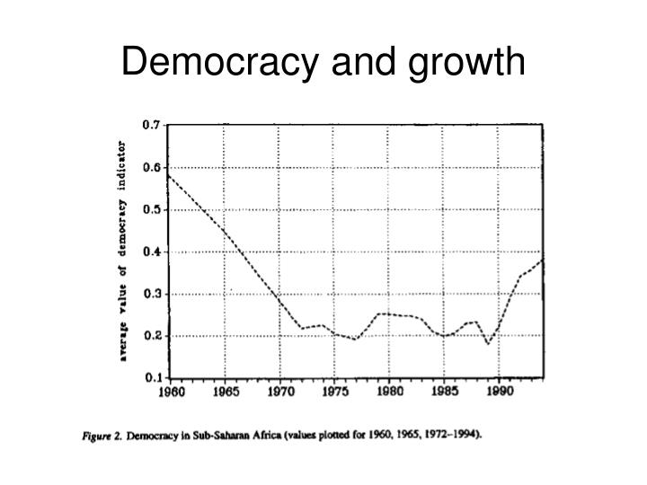 Democracy and growth