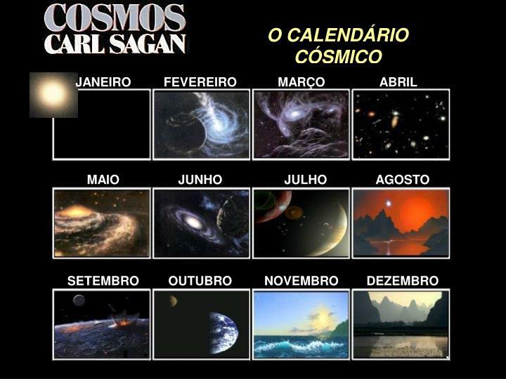 O CALENDÁRIO CÓSMICO