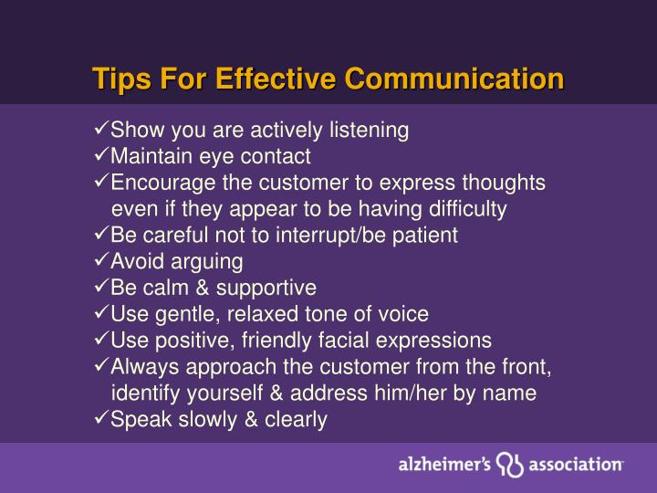 Tips For Effective Communication