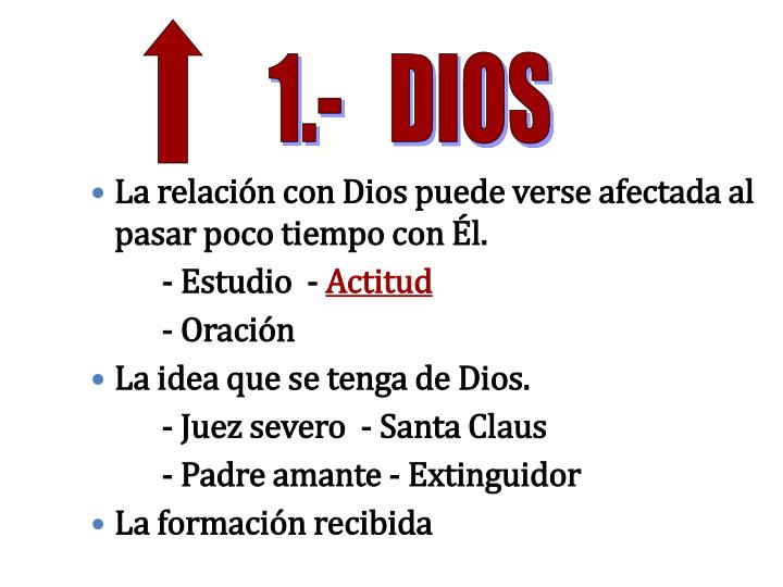 1.-   DIOS