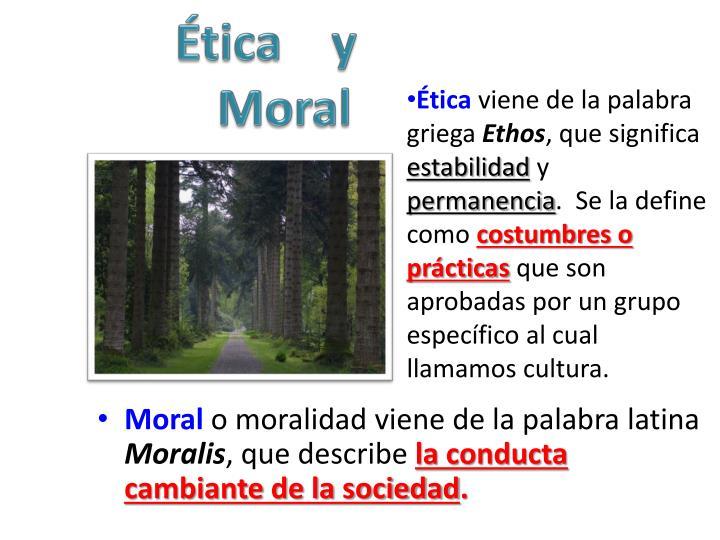 Ética    y