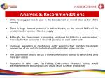 analysis recommendations