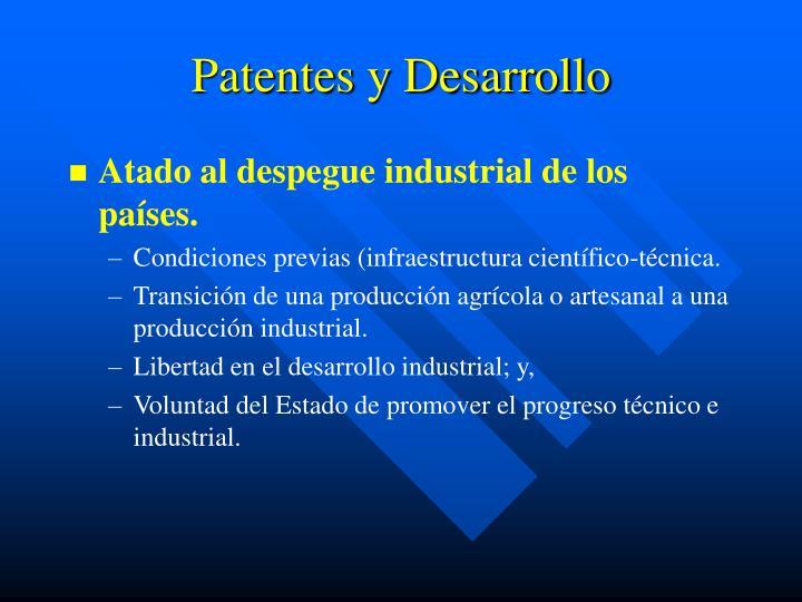 Patentes y Desarrollo