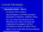 lawsuit advantages1