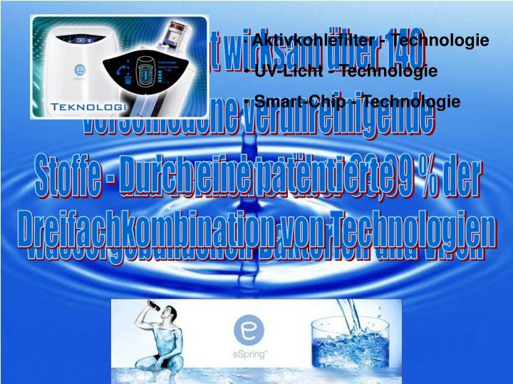 Aktivkohlefilter - Technologie