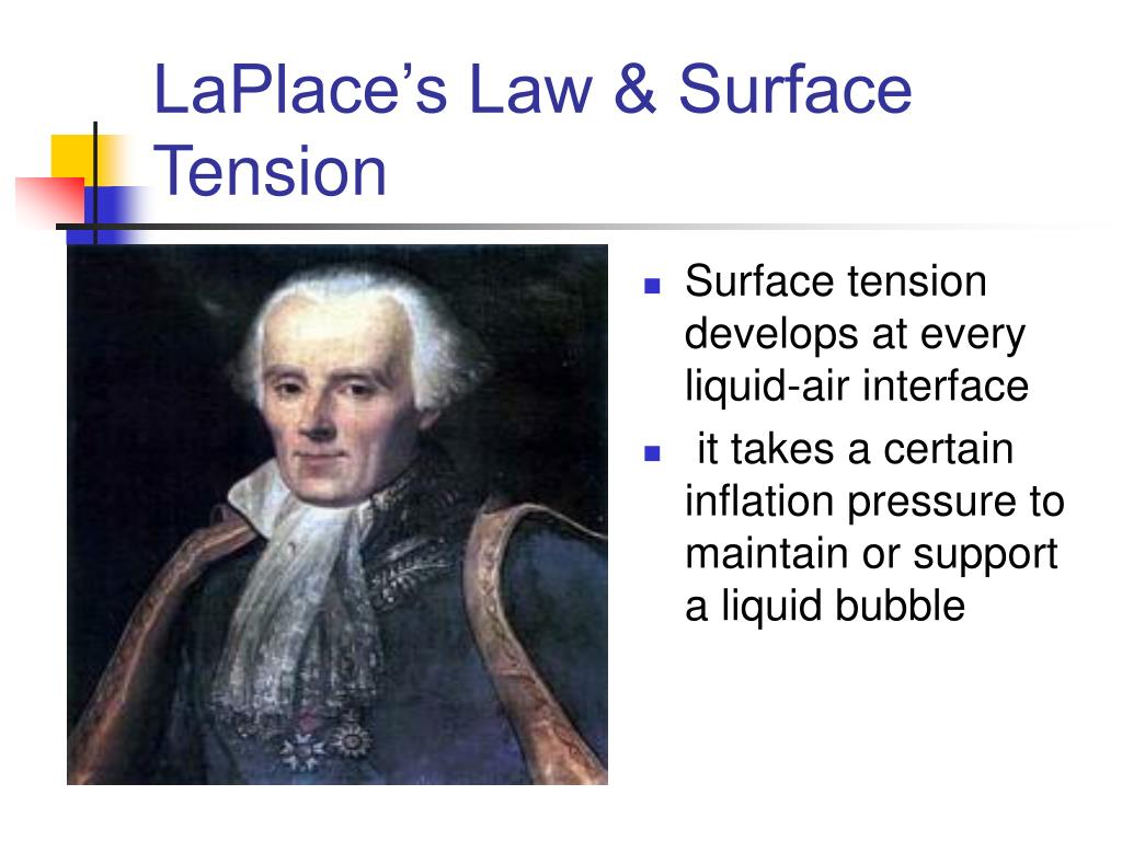 Surface tension develops at every liquid-air interface