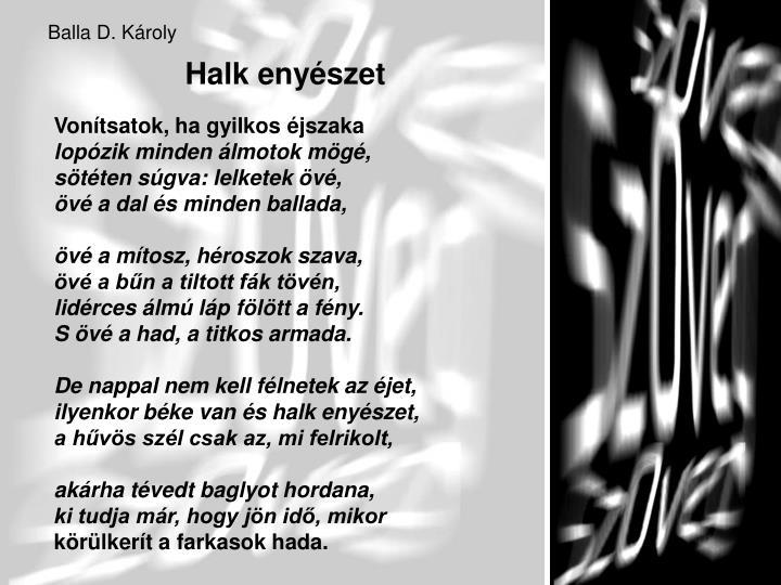Balla D. Károly