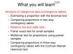 what you will learn5