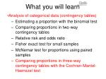 what you will learn8