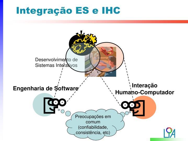 Integração ES e IHC