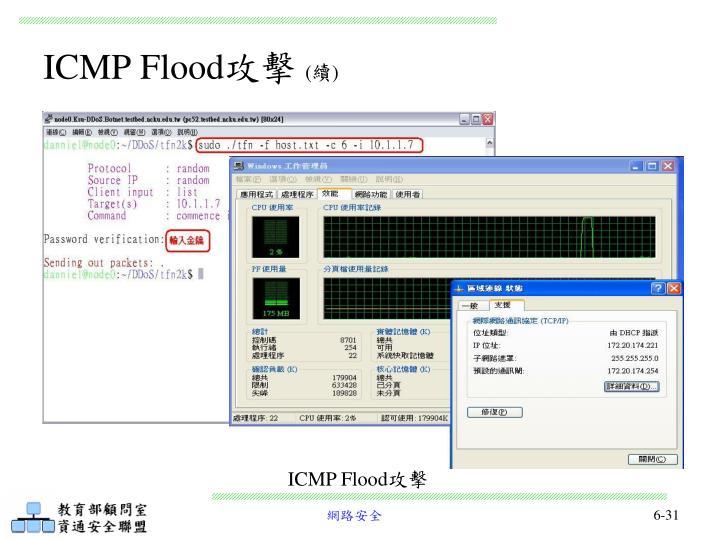 ICMP Flood