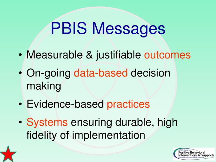 PBIS Messages