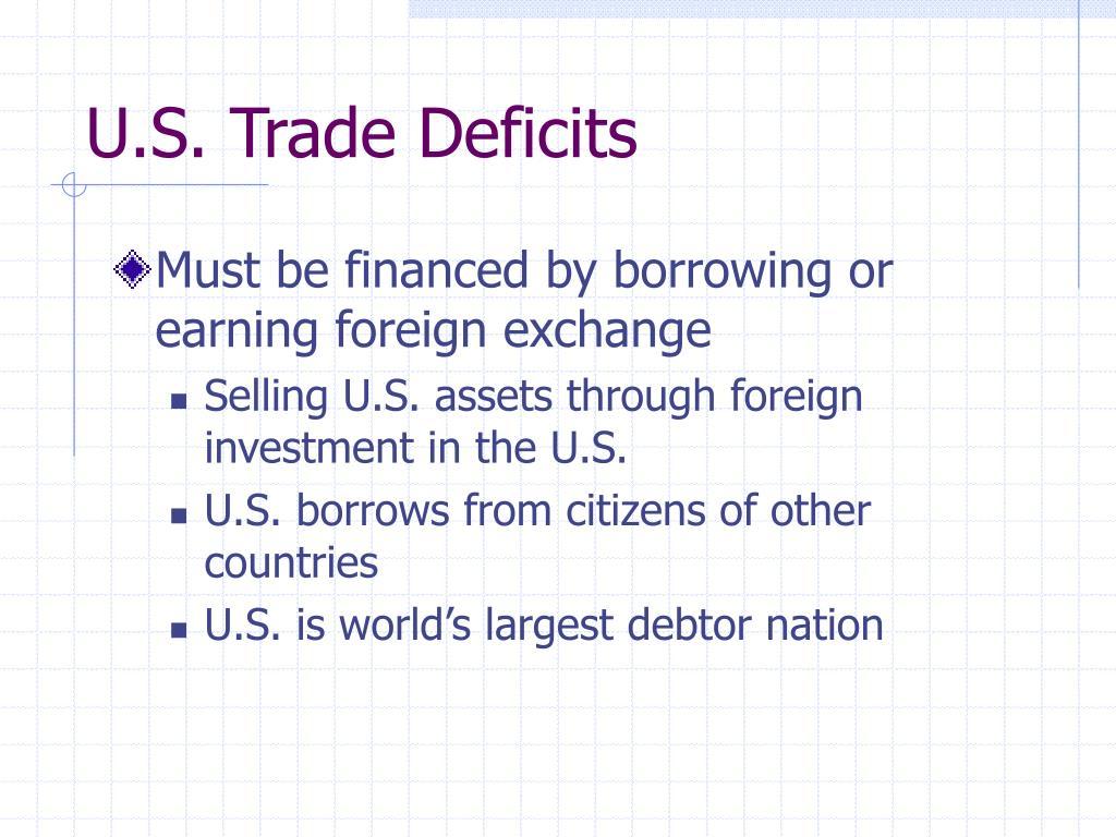 U.S. Trade Deficits