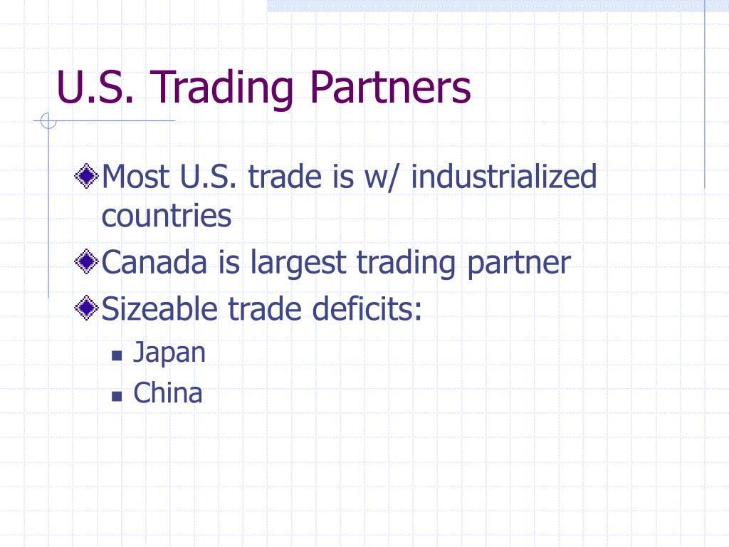 U.S. Trading Partners