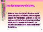 los documentos oficiales1