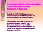 preparado por el centro de investigaci n en estudios de la mujer ciem ucr universidad de costa rica
