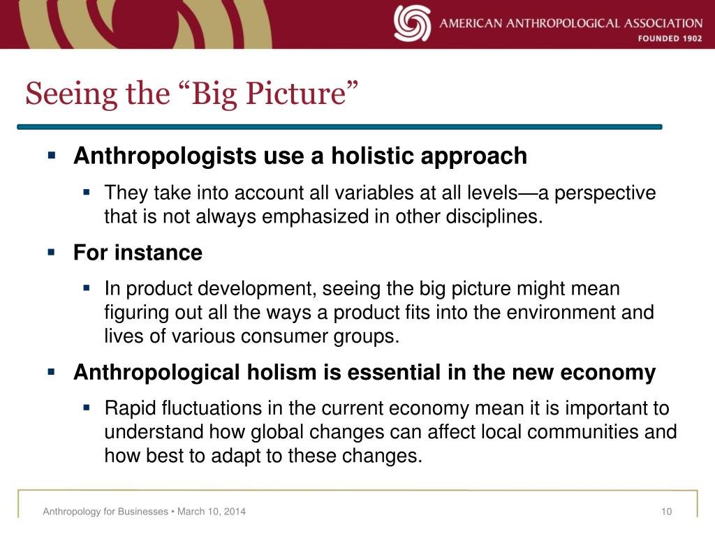 """Seeing the """"Big Picture"""""""