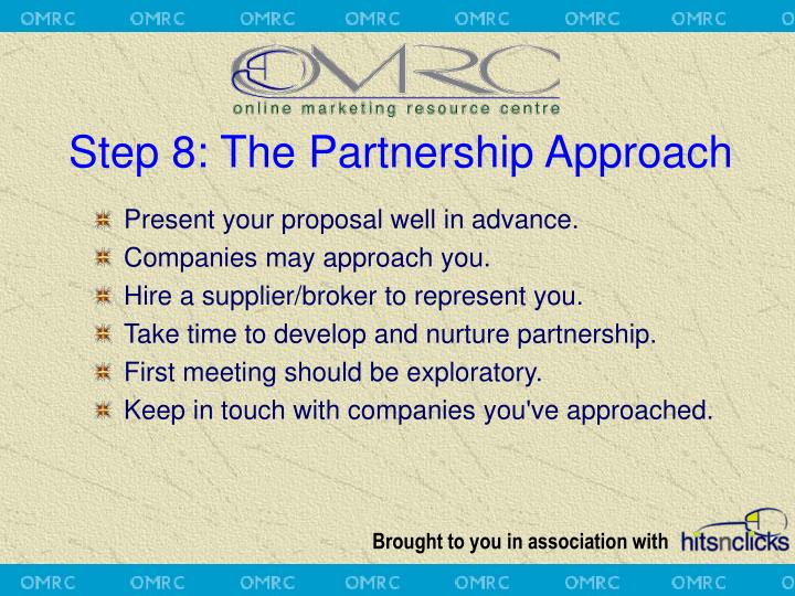 Step 8: The Partnership Approach