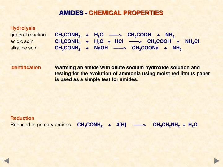 AMIDES -