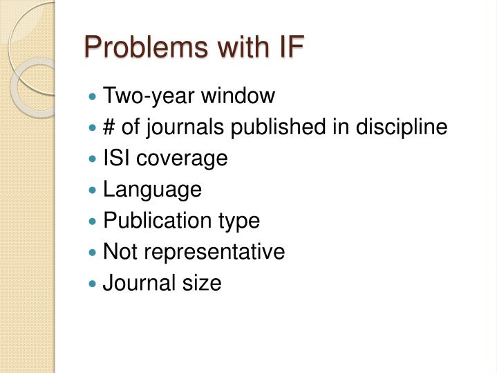Problems with IF