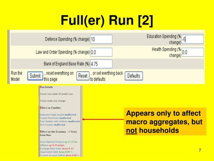 Full(er) Run [2]