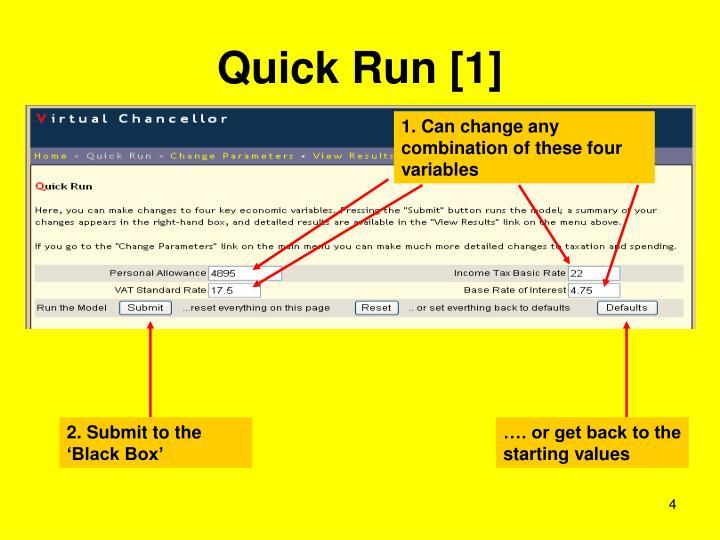 Quick Run [1]