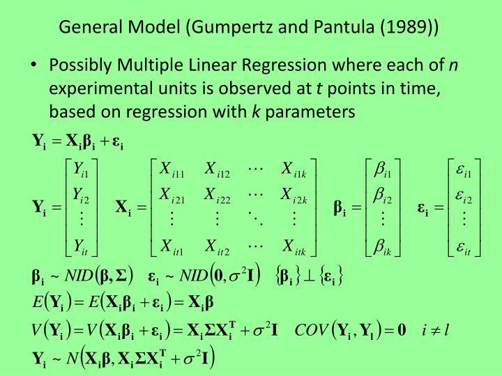 General Model (