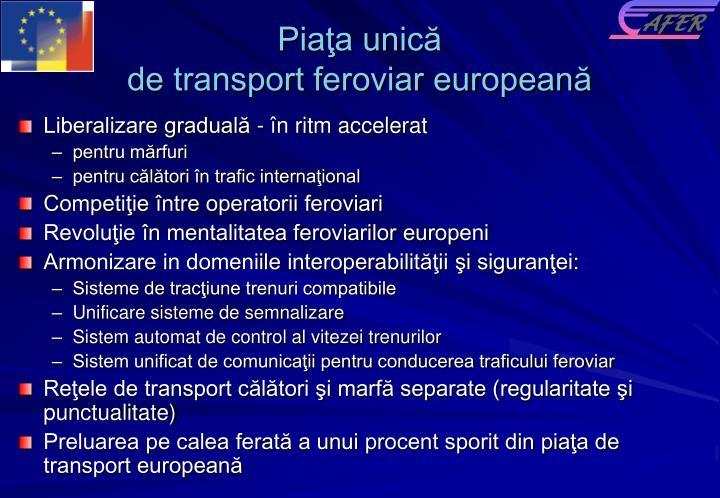 Piaţa unică