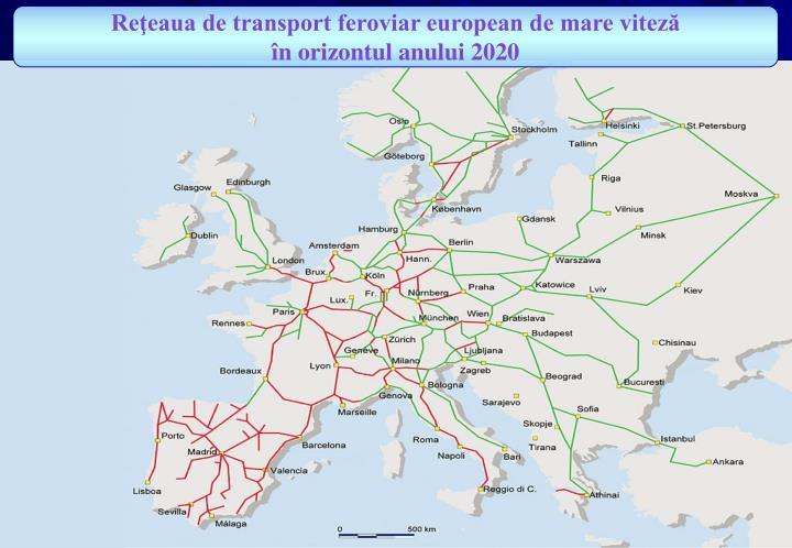 Reţeaua de transport feroviar european de mare viteză