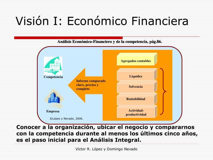 Visión I: Económico Financiera