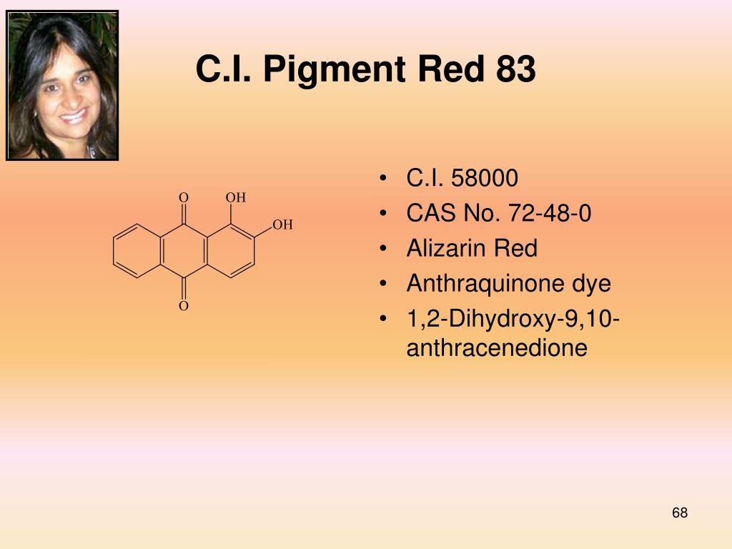 C.I. Pigment Red 83