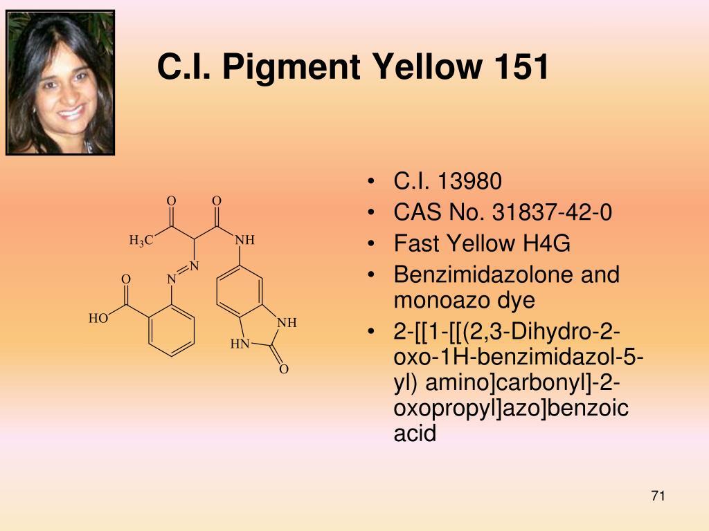 C.I. Pigment Yellow 151