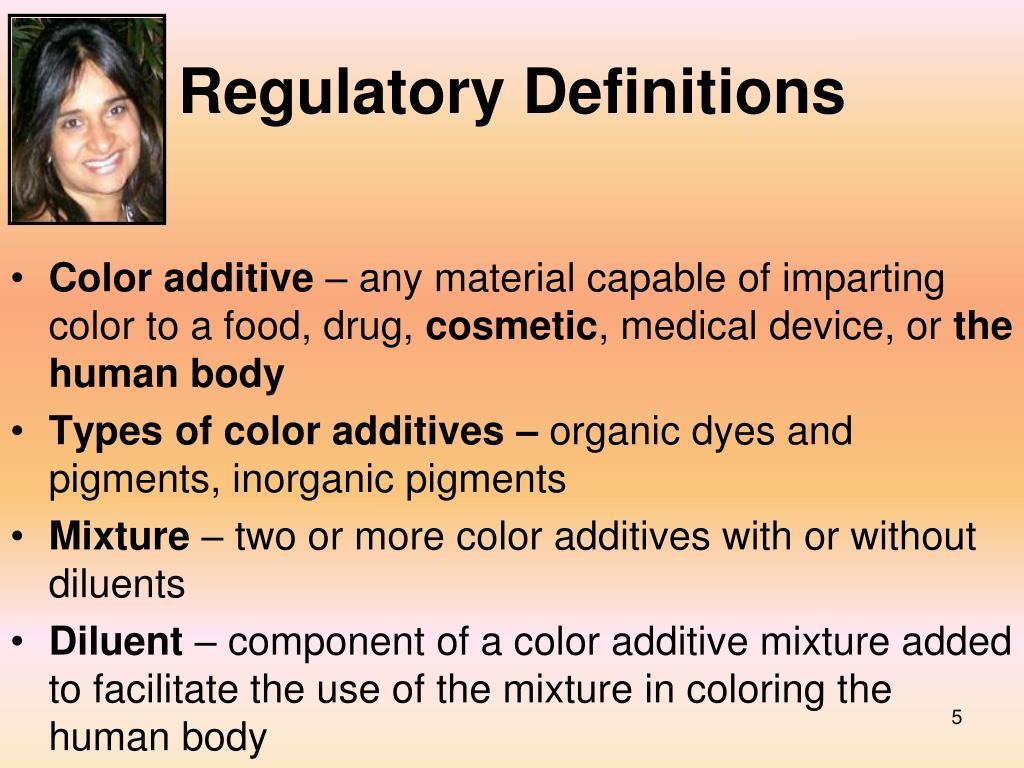 Regulatory Definitions