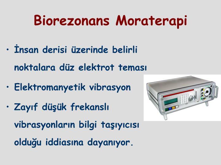 Biorezonans Moraterapi