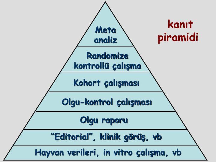 kanıt piramidi