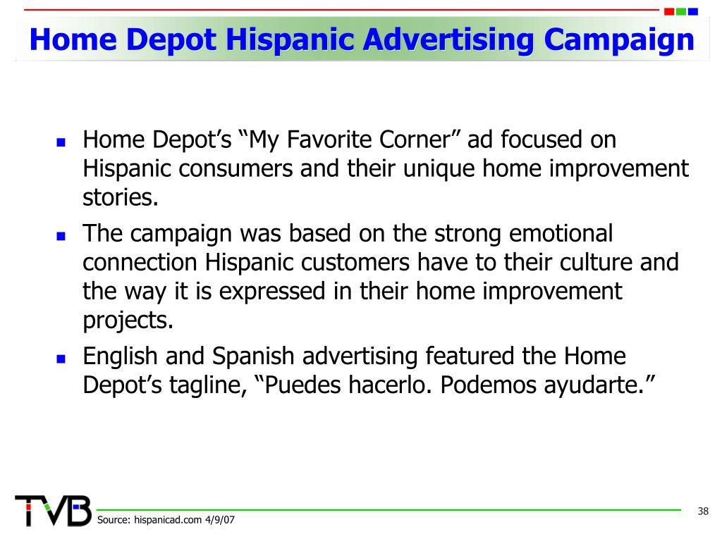 Home Depot Hispanic Advertising Campaign
