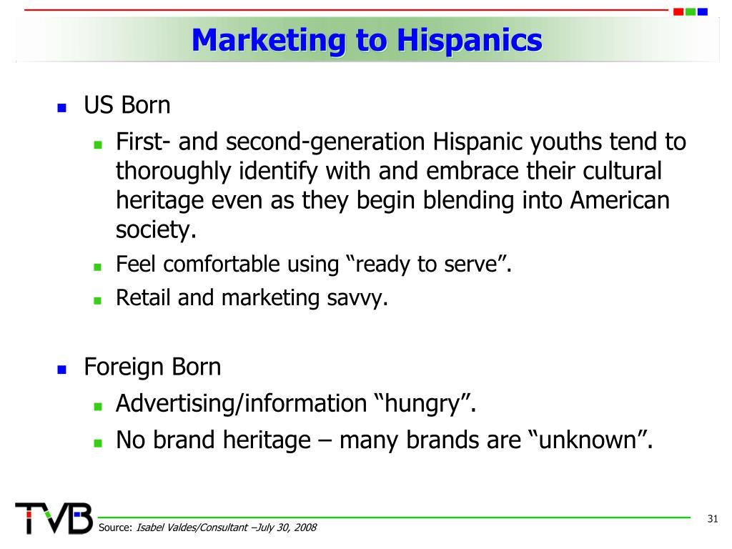Marketing to Hispanics